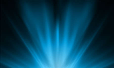 Dark blue smooth light lines abstract background. Vector illustration.