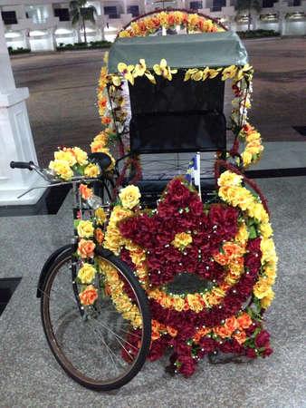 trishaw: Trishaw at Malacca