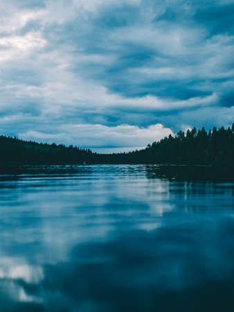 Calm water of lake LANG_EVOIMAGES