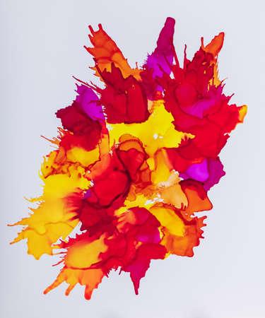 Mix of colorful paint Banque d'images - 119168537