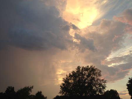 regen en droog Stockfoto