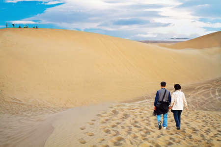 In Oct. 2010, my whole family drove to the largest desert in China. Explore the desert and enjoy the fun.