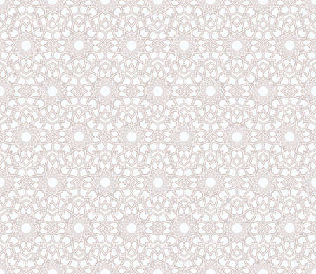 seamless guilloche pattern of variable line in a hint of pastel brown and pale blue