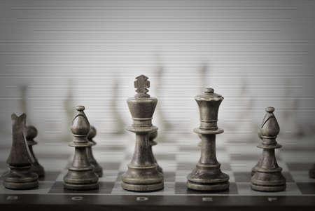 tablero de ajedrez: ajedrez, juego de fondo abstracto Foto de archivo