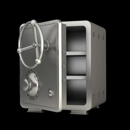 steel bank safe High resolution 3D photo