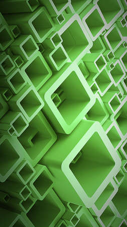 contrast resolution: abstract background smooth cubes High resolution 3d