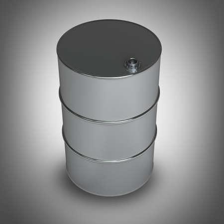 black FUEL barrel  High resolution 3D  photo