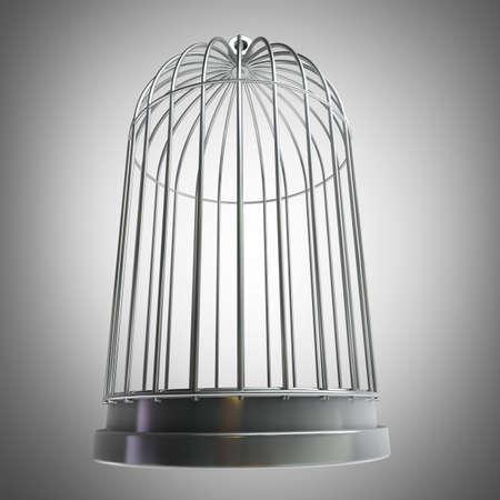 Bird cage High resolution 3d Imagens - 22189179