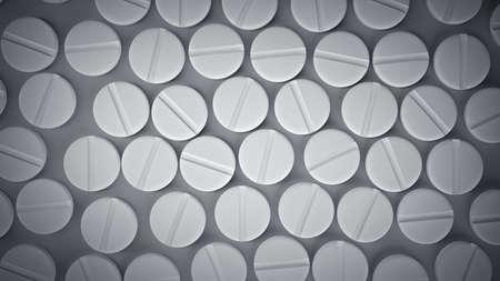 productos quimicos: Muchos medicamentos píldoras. Antecedentes alta resolución 3d