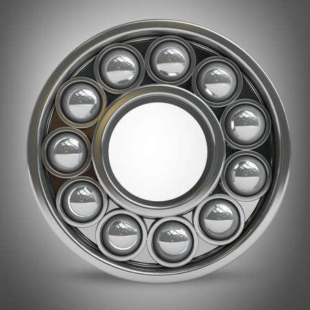 ball bearing: bearing  High resolution 3D image
