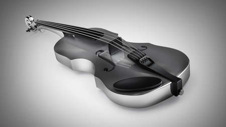 bout: Classic violin. High resolution 3D image  Stock Photo