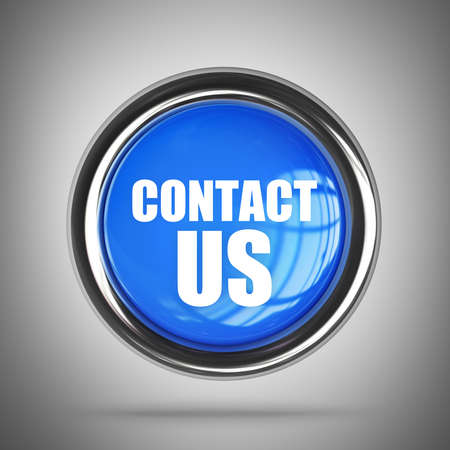 CONTACT US blue button. High resolution 3d render  Stock Photo - 22212393