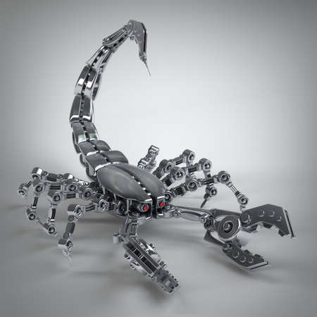 3d robot Scorpion. high resolution  photo
