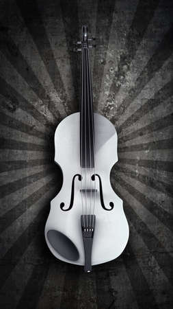 Classic violin. High resolution 3D image  photo