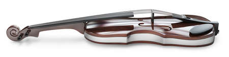 bout: Classic violin isolated on white background High resolution 3d  Stock Photo
