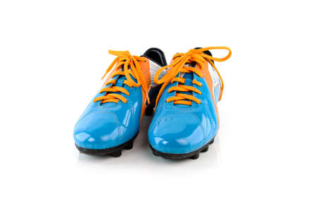 cleat: Footbal boots. Soccer boots. Isolated on white.
