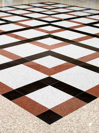 different floor tiles indoors photo