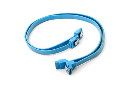 sata cable blue photo