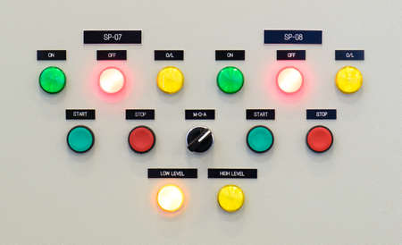 control panel: The fire control panel