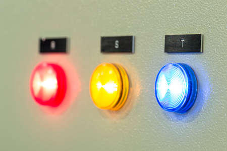 punch press: The fire control panel
