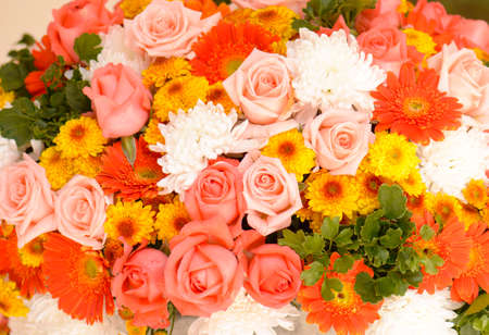 flower bouquets , bunch of flowers photo