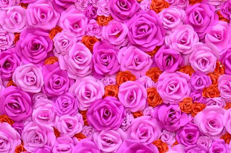 pink roses background Foto de archivo