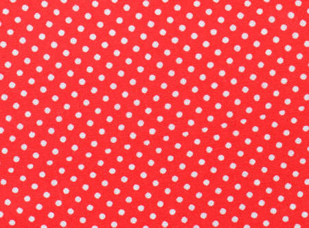 polka dot fabric: Red and white polka dot fabric