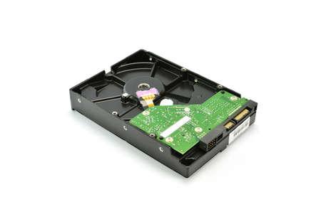 harddisk: harddisk isolated on white background