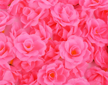 artificial flower: pink rose artificial flower