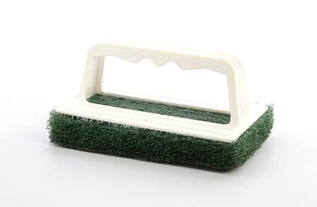 handle: mango del cepillo de limpieza Foto de archivo