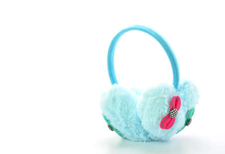earmuff: Protective winter earmuffs Isolated on a white background