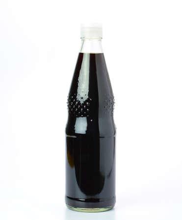 sauce bottle: soy sauce bottle isolated on white background