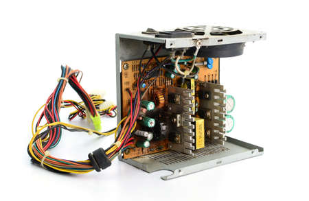 power supply: Inside of Waste Computer Power Supply