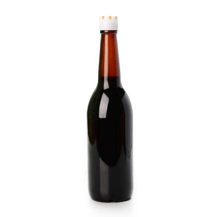 Oyster sauce on white background