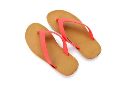 sandalias: sandals isolated on white background