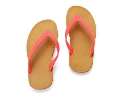sandalias: sandalias aislados sobre fondo blanco