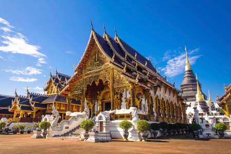 temple wat ban-den , chiangmai province Thailand Reklamní fotografie - 70664047