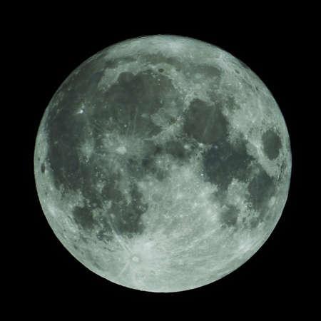 full moon full lunar in dark sky