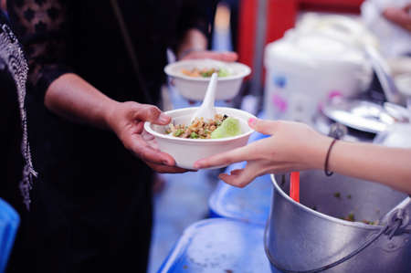 Free food is the hope of people without money, People do not have an address : the concept of sharing