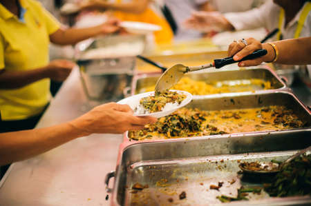 Helping with food donation to the poor: the concept of feeding