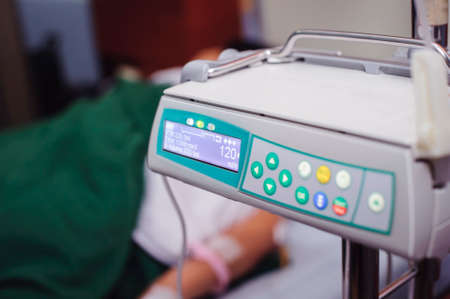Enteral feeding pump medical device For hospital patients