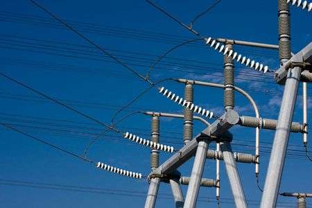 alternating: High Voltage Electrical Substation Insulators