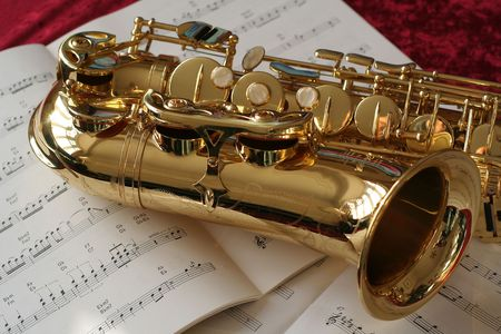 Saxophone and Music