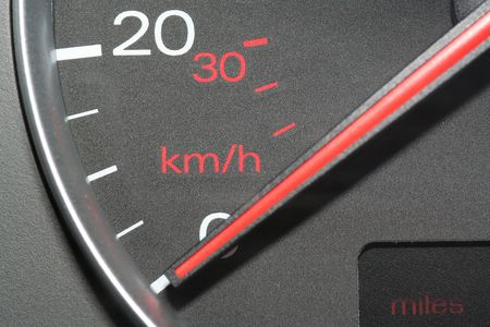 mph: Speedometer