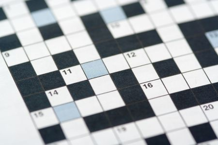 clues: A crossword puzzle