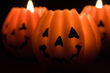 Pumpkin lanterns Stock Photo - 523463