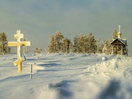 Paskah in snow