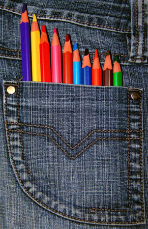 Colorful pencil cryons