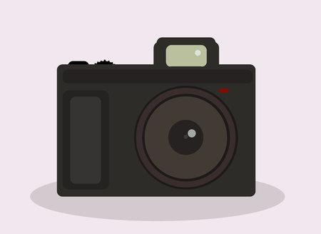 flat: Flat design camera Illustration