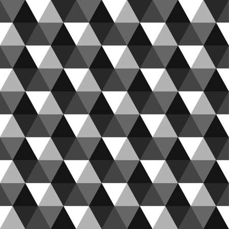 Seamless pattern background. black and white polygonal pattern design